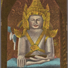 Buddha's image inside Arracan [Arakan] Pagoda.