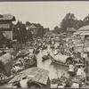 Khlong Mahanak and floating market, Bangkok