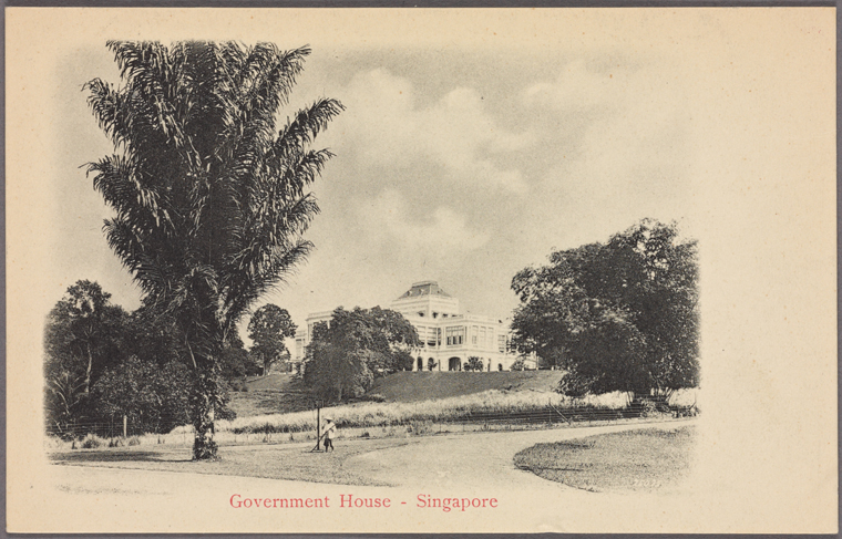 Fascinating Historical Picture of Istana