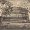 Mirisavetiya dagoba, Anuradhapura, Ceylon.