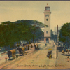 Queen Street, showing light house, Colombo.