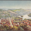 Ceylon.  General view of Kandy.