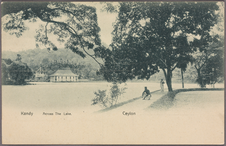 This is What Temple of the Tooth Looked Like  in 1907