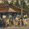 At the roadside, Ceylon.
