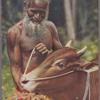 A carter and his bull, Ceylon.