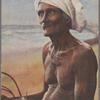 A fisherman, Ceylon.