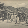 Native town, Kandy, Ceylon.