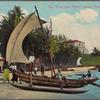 Sea shore near Mount Lavinia Hotel, Colombo.