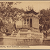 Buddhist shrine, Wat Suthad, Bangkok.