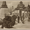 Buddhist priests in Bangkok (Siam).