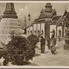 Buddhist priests in Bangkok (Siam).