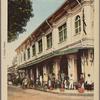 Mytho.  L'hôtel et l'Avenue de la Gare.
