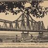 Hanoi.  Le Pont Doumer (1.700 mètres).  Caû Doumer (Mot ngan bay tram thuoc be dai).