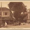 Saigon -- Rue Catinat et l'hôtel Continental.