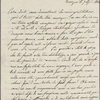 Autograph letter signed to Teresa Guiccioli, 7 April 1820