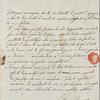 Autograph letter signed to Teresa Guiccioli, 7 April 1820
