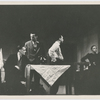 """Scene from the American Negro Theatre production of """"Juno and the Paycock,"""" 1946, with Harry Belafonte (third from left)"""