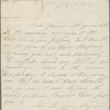 Autograph letter signed to a publisher, 13 July 1809