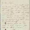 Autograph letter signed to Edward Fergus Graham, 15-19 May, 1811