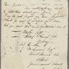 Autograph letter signed to Edward Fergus Graham, 5 June 1810