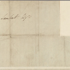 Autograph letter signed to John Lambert, 10 May 1815