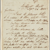 Autograph letter signed to Lackington & Co., 26 September 1815