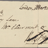 Autograph check signed to Brooks, Son and Dixon, 26 March 1816