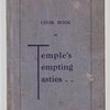 Cookbook of Temple's tempting tasties