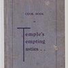 Cookbook of Temple's tempting tasties