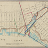 "Map showing a part of Brooklyn, with pencil notation: ""This shows the Glen Dale & East River & Coney Island Rail Road as filed in the County Clerk's Office . . .""]"