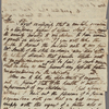 Autograph letter signed to Dr. Thomas Hume, 17 February 1820