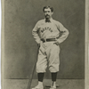 A. J. Leonard, left field, 1874.