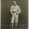 Weston Fisler, 1st base, 1874.