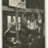 University of Illinois basketball team practice.]