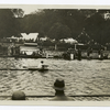 Henley Regatta, second day, 6/7/XC : W.M. Hoover (America) winning his heat against R.J.C. Tweed for the Diamond Sculls.
