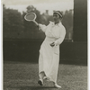 The former national tennis champion Mrs. George Wightman of Boston formerly Hazel Hotchkiss defeated by Molla Bjurstedt at Phila. Saturday.