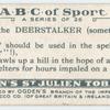 D is the DEERSTALKER (sometimes, fear, ...