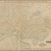 Map of the city of Brooklyn. [Distance shown by 1/2 mile radial zones originating at Brooklyn city hall.]