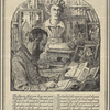 """Engraved """"Shelley bookplate"""" of Harry Buxton Forman"""