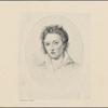 Engraved portrait of Percy Bysshe Shelley