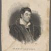 Robert Southey. Late poet laureate.