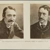 Two interesting portraits of R.L. Stevenson, taken in Australia in 1893..