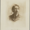 Robert Louis Stevenson.  From a photograph in the possession of Edmund  Gosse Esq.