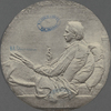 [Robert Louis Stevenson medallion. By Saint-Gaudens.]