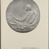 Robert Louis Stevenson medallion. By Saint-Gaudens.
