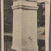 The Stevenson memorial.