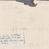 Autograph letter signed to Ruggiero Gamba, 11 August 1820