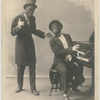 Vaudeville entertainers Simms and Wiley