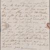Autograph letter signed to R. B. Hoppner, 28 October 1820