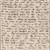 Autograph letter signed to Claire Clairmont, 29 October 1820